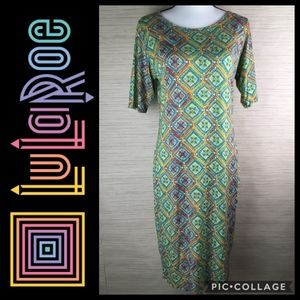 LuLaRoe Julia Print Dress